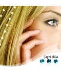 """Baalbek hajékszer """"capri blue"""" színben 96 köves"""