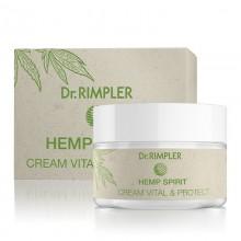 Dr. Rimpler Hemp Spirit - Vital + Protect CBD olajos krém 50 ml