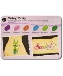 Art Glitter tartós csillámtetoválás szett - Cutey Party színkollekció