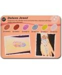Art Glitter tartós csillámtetoválás szett - Deluxe Jewel színkollekció