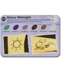 Art Glitter tartós csillámtetoválás szett - Starry Midnight színkollekció